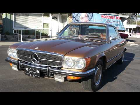 73 Mercedes Benz 450SLC R107 Coupe V8 450 SLC SL Coupe