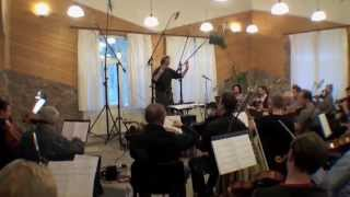 THE WAR AT HOME score recording in prague