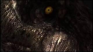 Jurassic World Fallen Kingdom T-rex Inside Cage Green Screen