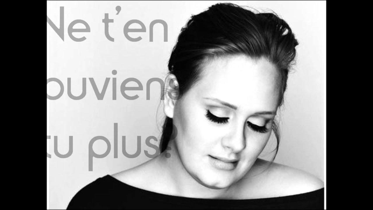Lily présente - Adèle - Traduction de Don't you remember