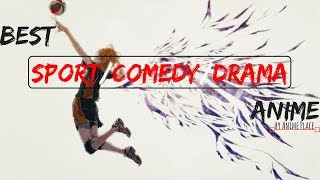 10 Best Sport/Comedy/Drama Anime part 1