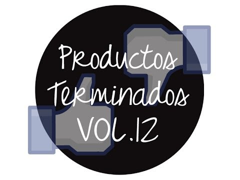 ♥♥♥ Productos terminados VOL.12 ♥♥♥