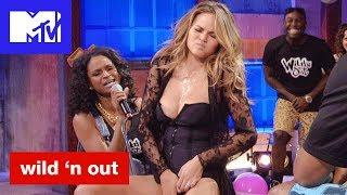 Chrissy Teigan Gets Touchy Feely For Michael Strahan 'Bad & Booty-est Moments' | Wild 'N Out | MTV