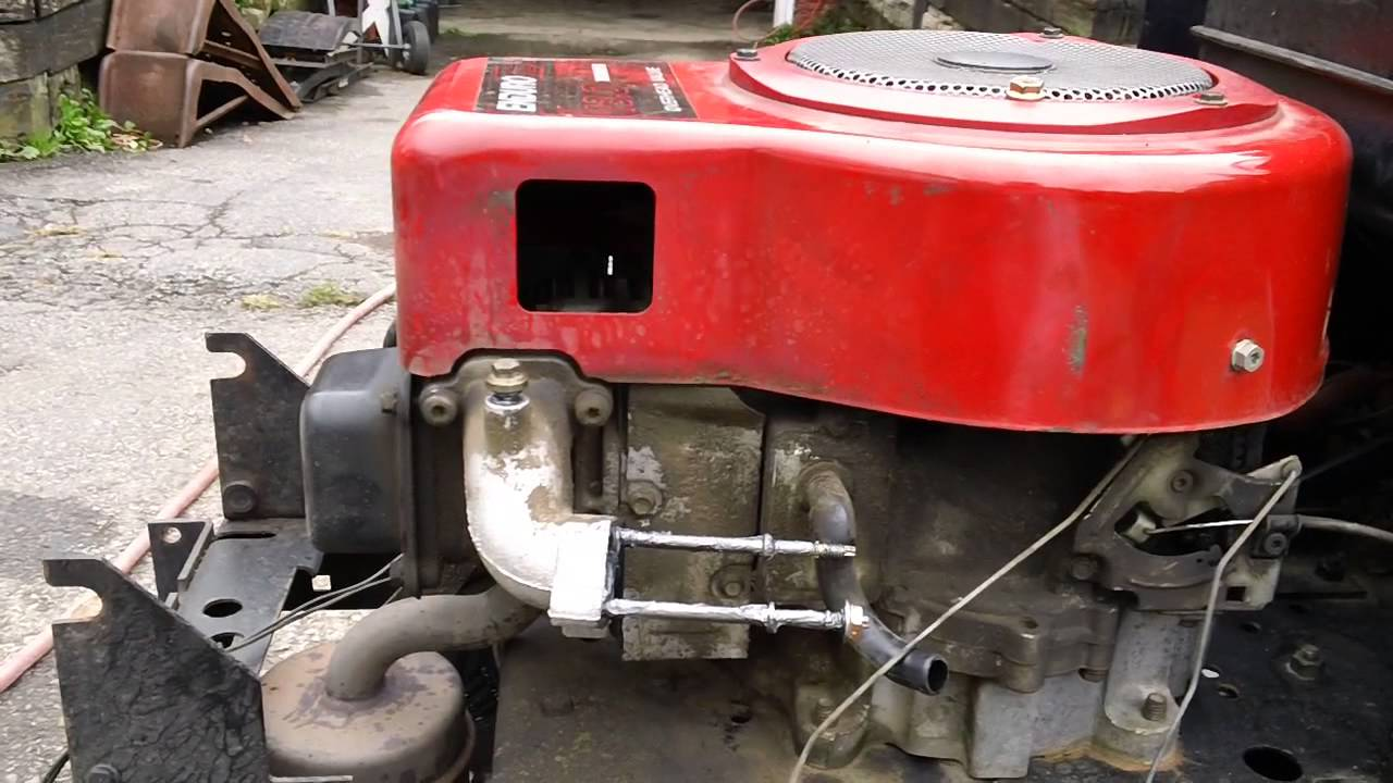 Sears Lawn Tractor Serv W Tecumseh Ohv Vector Carb Youtube