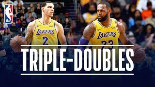 LeBron James & Lonzo Ball Both Record TRIPLE DOUBLES | December 15, 2018