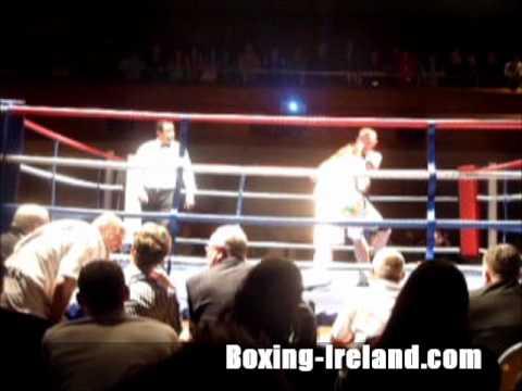 JJ McDonagh v Lee Murtagh Irish super middleweight boxing title fight