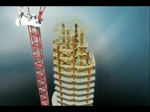Burj Khalifa (burj Dubai) Construction - Animation - U.a.e. video