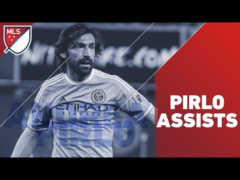 Andrea Pirlo assists for New York City FC