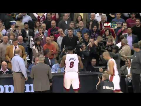HD   Miami Heat Vs Cleveland Cavaliers   Return of LeBron James   Pre Game   12 02 2010