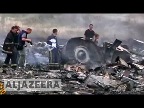 Malaysian Airlines plane 'shot down' over Ukraine