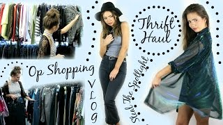 THRIFT HAUL & TIPS + Lookbook + Come Thrifting With Me!