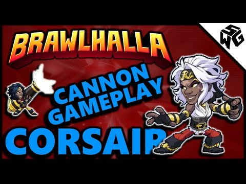 New Legend and Cannon Gameplay! - Brawlhalla Gameplay :: My Reaction!