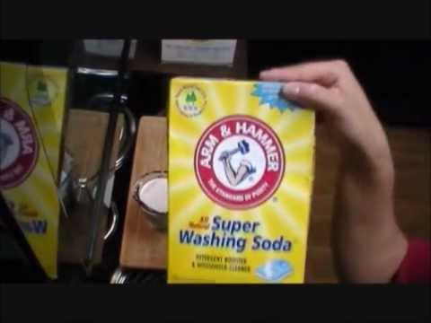 How To Make Liquid Laundry Detergent (Duggar Family Recipe)