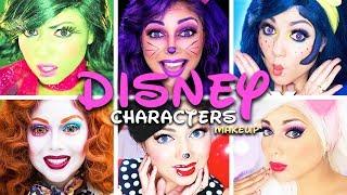 Disney Characters MAKEUP Compilation! | Charisma Star