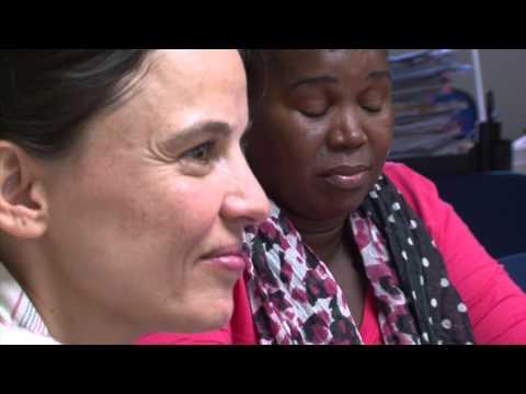 Las ganadoras del premio Nansen visitan España