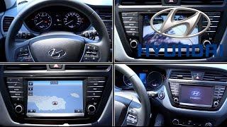 Hyundai sistema multimedia 2016 | Menús y botones