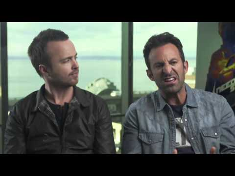 Aaron Paul & Scott Waugh | NEED FOR SPEED | Behind The Scenes With Scott Carty