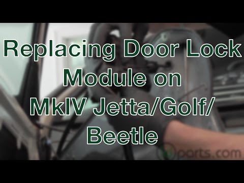 Replacing the Door Lock Module on a MkIV Jetta/Golf/New Beetle