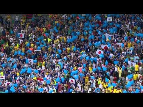 World Cup 2014 National Anthems Côte d'Ivoire  vs Japan