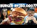 Burger Rp 180.000 Vs Rp 13.000 !!! thumbnail
