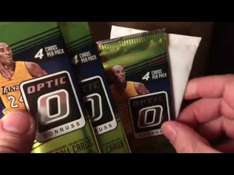 2018-2019 Donruss Optic Pack Rip - Team D Russo Pack War Response