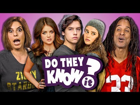 DO PARENTS KNOW MODERN TEEN SHOWS? (REACT: Do They Know It?)