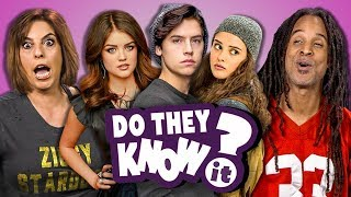 Download Lagu DO PARENTS KNOW MODERN TEEN SHOWS? (REACT: Do They Know It?) Gratis STAFABAND