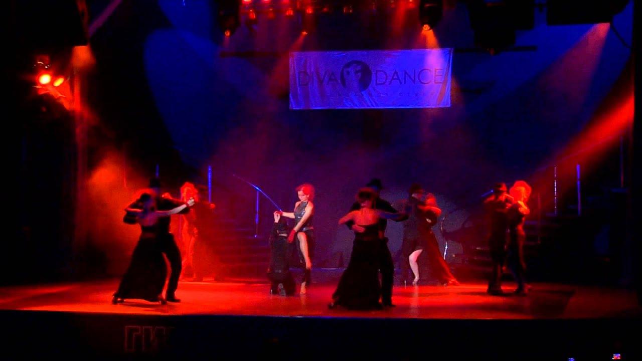 Летний отчетный концерт танцевальной школы DIVA Studio в Гигант-холле 08.06.2014 года. Видео Латина-пары (танго).