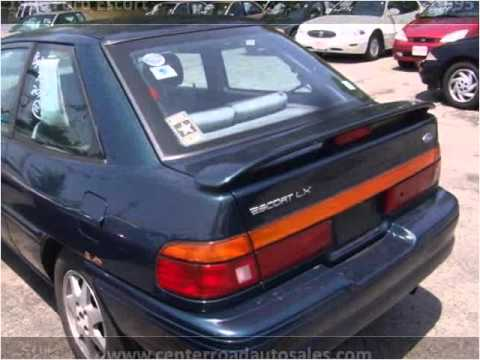 1996 Ford Escort Used Cars Brunswick OH