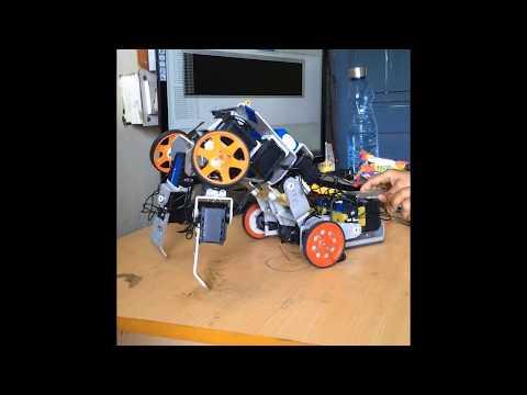 Optimus – The transformer robot