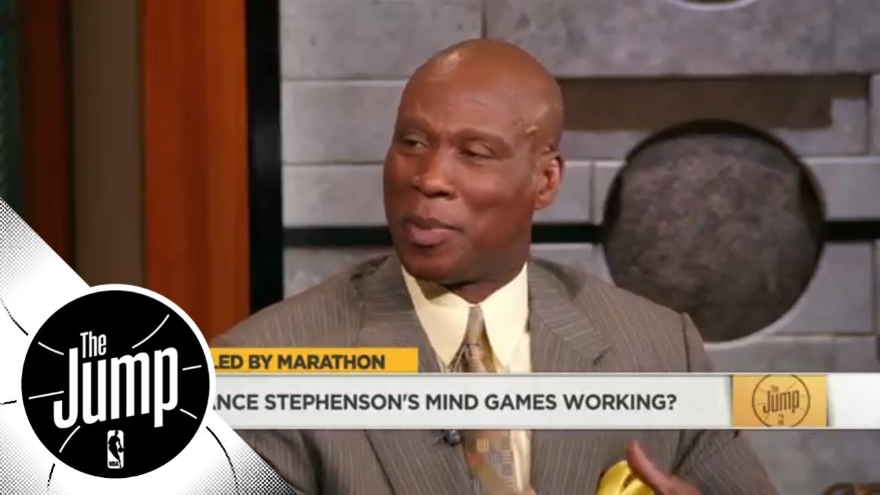 Byron Scott to Lance Stephenson on LeBron James: You don't mess with great players | The Jump | ESPN