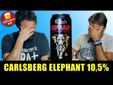 Carlsberg Elephant Extra Strong 10,5% |Biertest