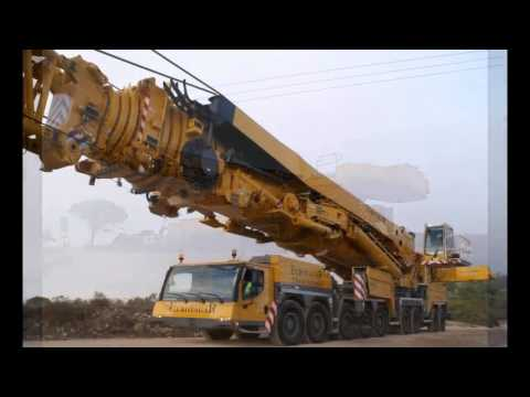 The Most Powerful Mobile Crane in The World   Liebherr LTM 11200