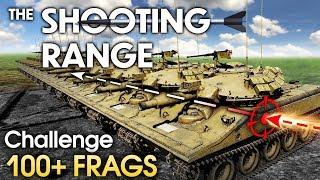 THE SHOOTING RANGE #161: Challenge! 100+ frags / War Thunder