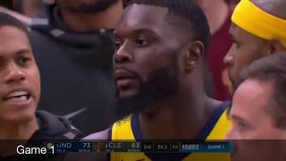 Best of LeBron James vs Lance Stephenson in 2018 NBA Playoffs