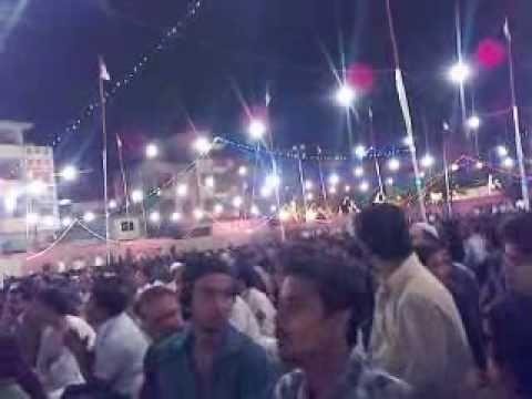 Mehfil-e-milad  At Lal Qila Ground Azizabad Karachi video