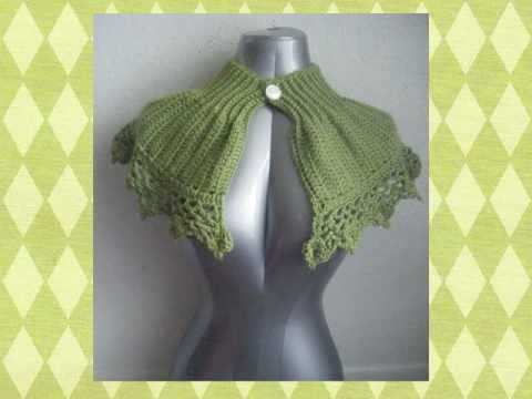 CROCHETED CAPELET PATTERN | FREE PATTERNS