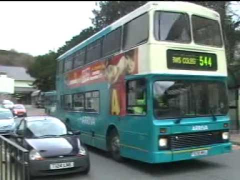 Buses in Bangor.