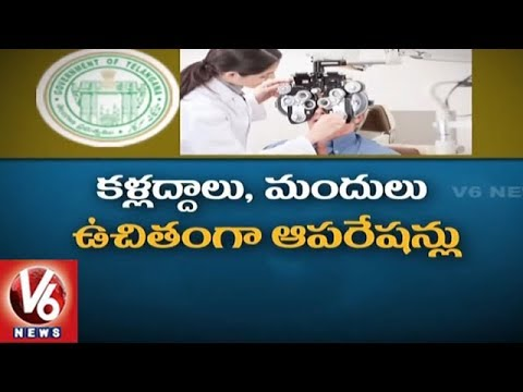TS Govt To Launch Free Eye Camps Across State On August 15th | Kanti Velugu Scheme | V6 News