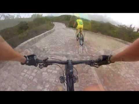 Caloi Elite Team reconhecendo o prólogo no Brasil Ride 2013