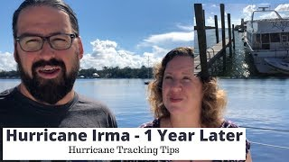 Hurricane Irma - One Year Later: Tropical System Tracking Tips