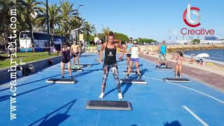 Total body functional step ( Cambrifit 2018 )