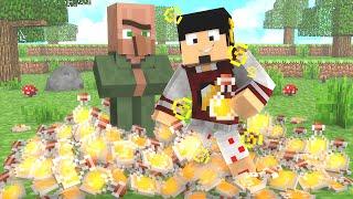 Minecraft: SURVIVAL POINTS DIA 2 - MUITA LUCKY POTION ‹ AMENIC ›