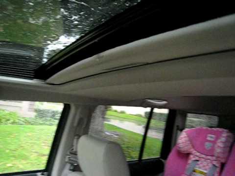 leaking  jeep commander sunroof  leakvisit  dealer youtube