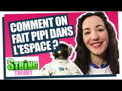 Florence Porcel explique comment on fait pipi dans l'espace