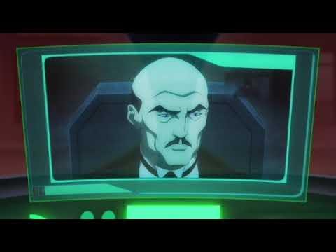 Бэтмен россказывает все что знает о Бэтвумен (Бэтмен: Дурная кровь 2016)