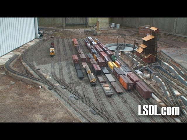 Garden Railroad Tour: Colorado Southern RR - Bill & Brenda Derville