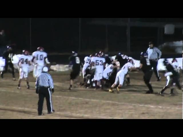 11-4-11 - Chris Lee gets into the end zone (Brush 36, Estes Park 0)