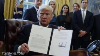 President Trump Revives Keystone Pipeline Rejected by Obama | Trump News | Top Stories Today