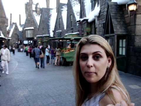 Hogwarts a cidade do Harry Potter na Universal Studios